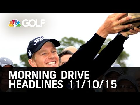 Morning Drive Headlines 11/10/15 | Golf Channel