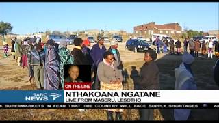 All constituencies counted in Lesotho elections: Nthakoana Ngatane