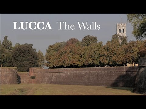 The Ancient Walls of Lucca, Italy