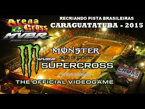 Monster Energy Supercross - Arenacross Caragua / PS4