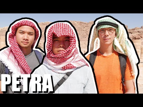 Petra is so Epic! THE BEST PLACE I'VE BEEN TO ALL YEAR - (Jordan Travel)