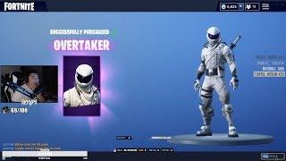 WHITE POWER RANGER SKIN (Fortnite)
