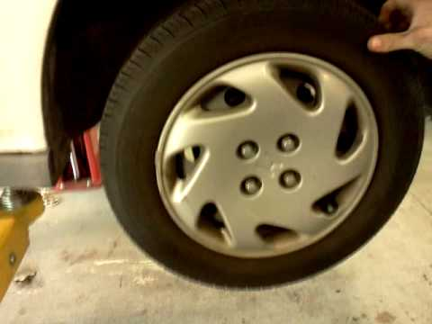 honda civic bad wheel bearing youtube