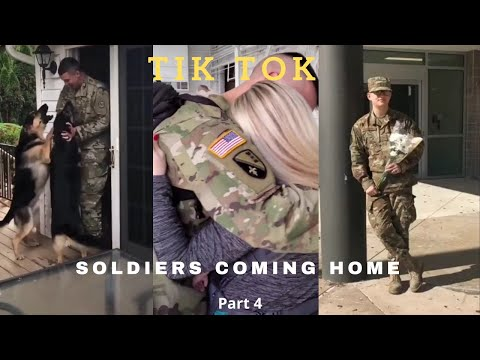 Soldiers Coming Home | TikTok Compilation #4