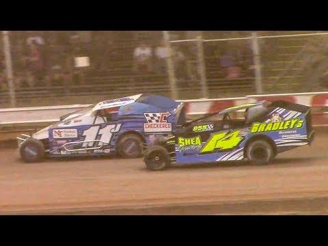 RUSH Sportsman Modified Heat Two | Sharon Speedway | 7-2-18