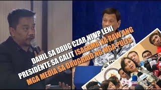 MALA-SPY NA KILOS ng DRUG CZAR, VP Leni may masamang balak kay Pangulo