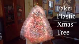 как сделать елку из пластиковых стаканчиков