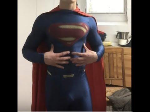 Superman Man Of Steel Costume - Becoming Superman