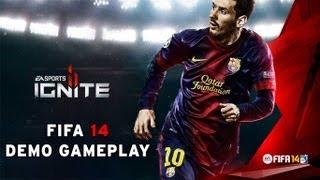 FIFA 14 DEMO GAMEPLAY PC | Barcelona vs Milan