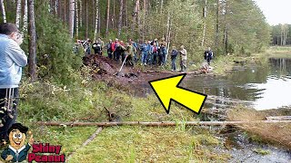Seorang Pria Berjalan di Danau Dikagetkan Oleh Penemuan Menggemparkan