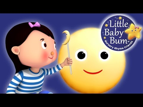 Little Ba Bum  The Moon Song  Nursery Rhymes for Babies  Songs for Kids