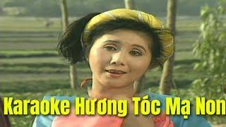 Karaoke Hương Tóc Mạ Non - Lương Tuấn & Vân Hà