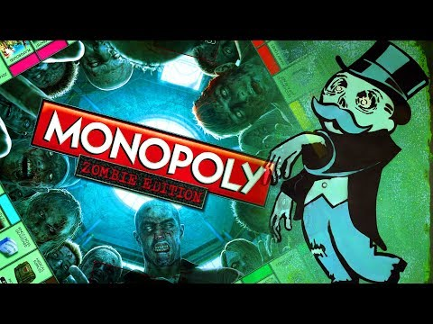 Monopoly Zombie Board Game Challenge (Call Of Duty Zombies)