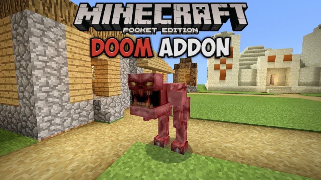 Minecraft modder webmaster of the coag twitch streamer. Doom 2 Addon для Minecraft PE 1.1   Страшный Пинки - YouTube
