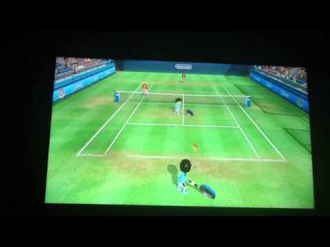 Wii Sports Club Tennis : Frying Pan Secret!