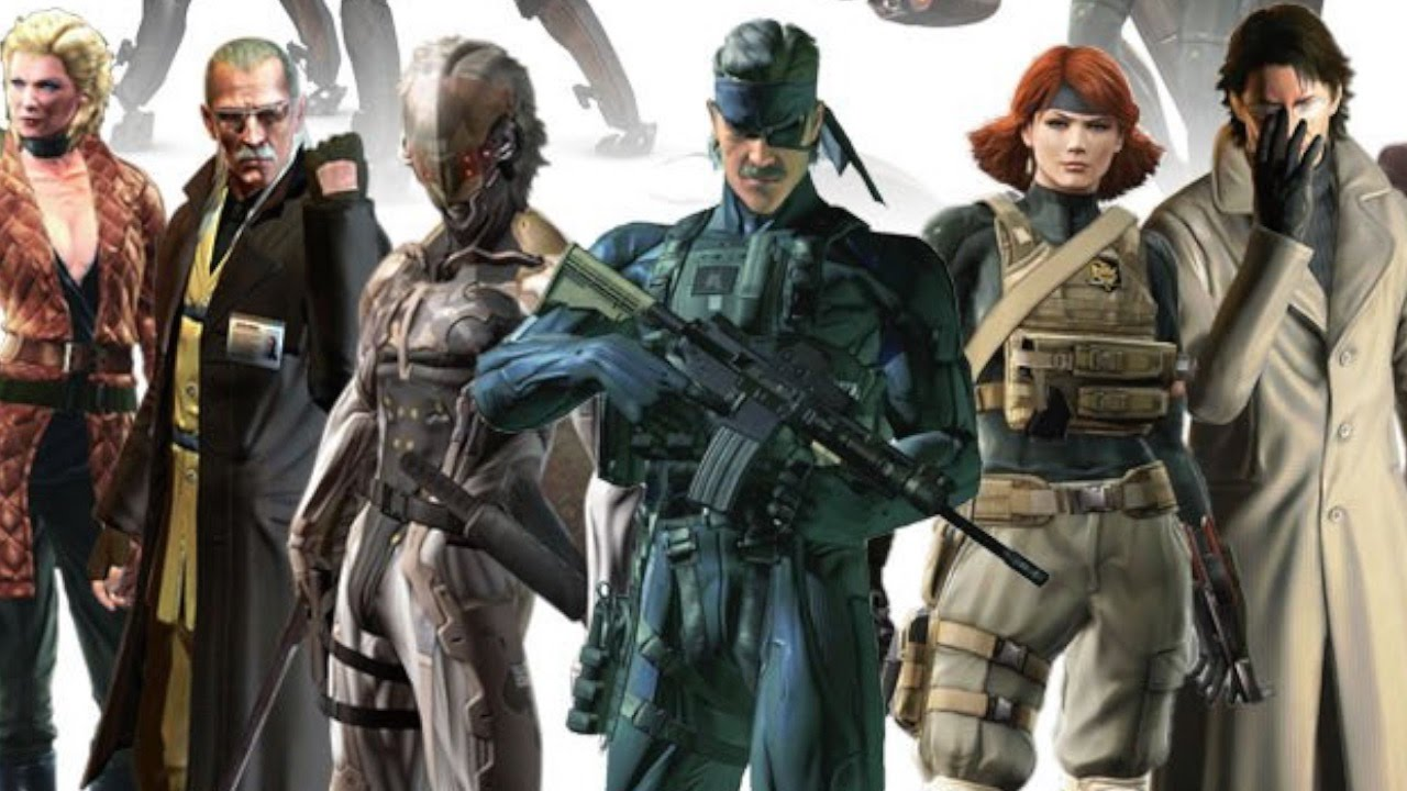 Top 10 Metal Gear Solid Characters | WatchMojo com