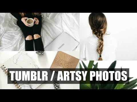 HOW TO TAKE TUMBLR PICTURES | Allie Johnson