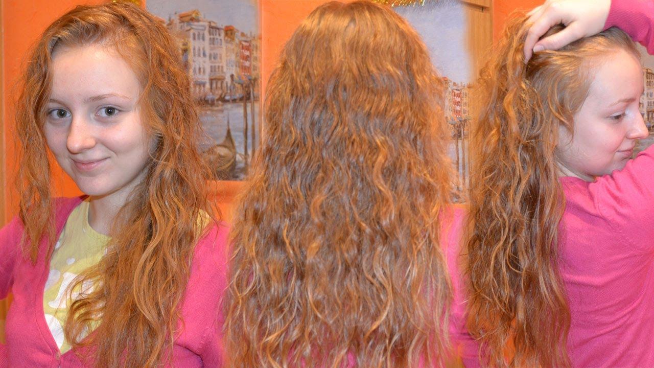 Эффект мокрых волос на короткие, средние волосы, на 71