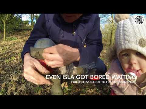 Minelab Equinox 800 Finds 2000 year old  Roman coins  And a Little Girl Out Metal Detecting