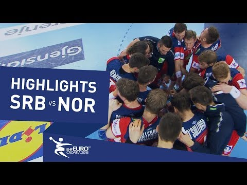 Highlights | Serbia vs Norway | Men