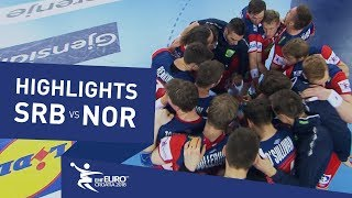 Highlights | Serbia vs Norway | Men's EHF EURO 2018
