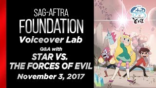Voiceover Lab: Q&A with STAR VS. THE FORCES OF EVIL