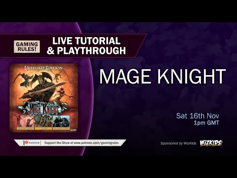 Mage Knight - Live Tutorial And Playthrough