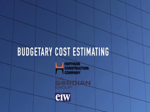 Budgetary Cost Estimating - Estimating for GC/CMs: Workshop