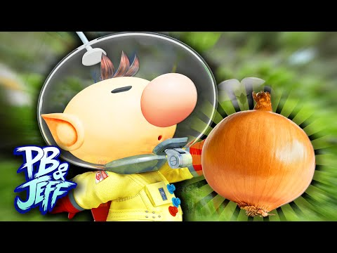 PLAYING W/ ONIONS! - Pikmin (Part 1)