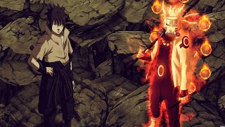 Naruto Rikudou And Sasuke's Rinegan Vs Madara Six Path, Sakura Shocked When She Saw Rinegan EngDub