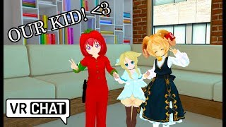 [VRChat] OUR DAUGHTER FLORENT!! (Virtual Reality) (Funny Moments)