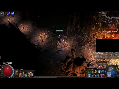 PoE - Farming Maps and Delves - Hopefully not to lagged