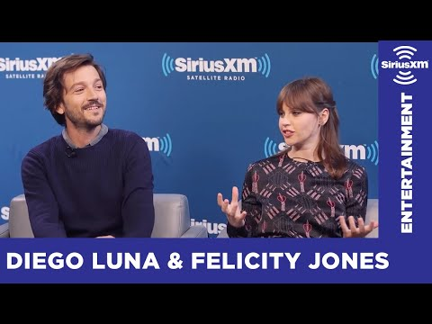 What Blew Felicity Jones and Diego Luna's Minds about Star Wars? // SiriusXM // Entertainment Weekly