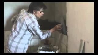Как ложить плитку на гипсокартон!!!(ремонт, плитка, кафель, ванная, скорость, укладка плитки, раскладка плитки, плитка на пол, плитка для ванной,..., 2016-02-02T11:18:01.000Z)