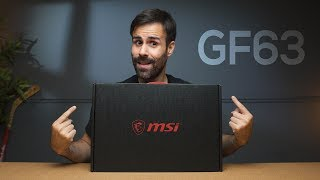 MSI GF63 Unboxing // A Light Gaming Laptop with thin Bezels!