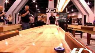 Shuffleboard Trick Shots By Billy Mays