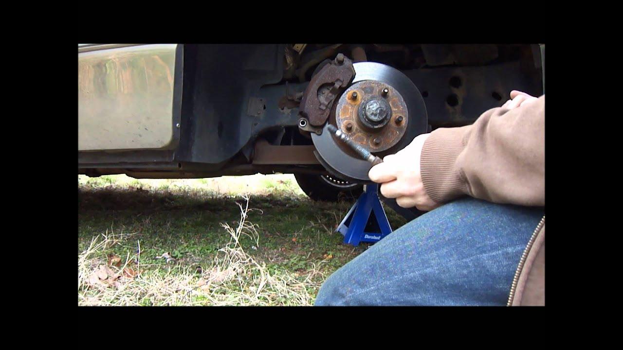 Brake Caliper And Guide Pin Bushings Youtube