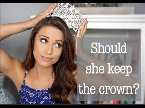 Should Miss Teen USA have her Crown Taken Away?