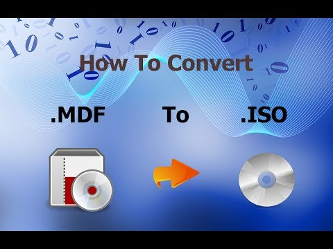 How To Convert MDF To ISO Easy Method