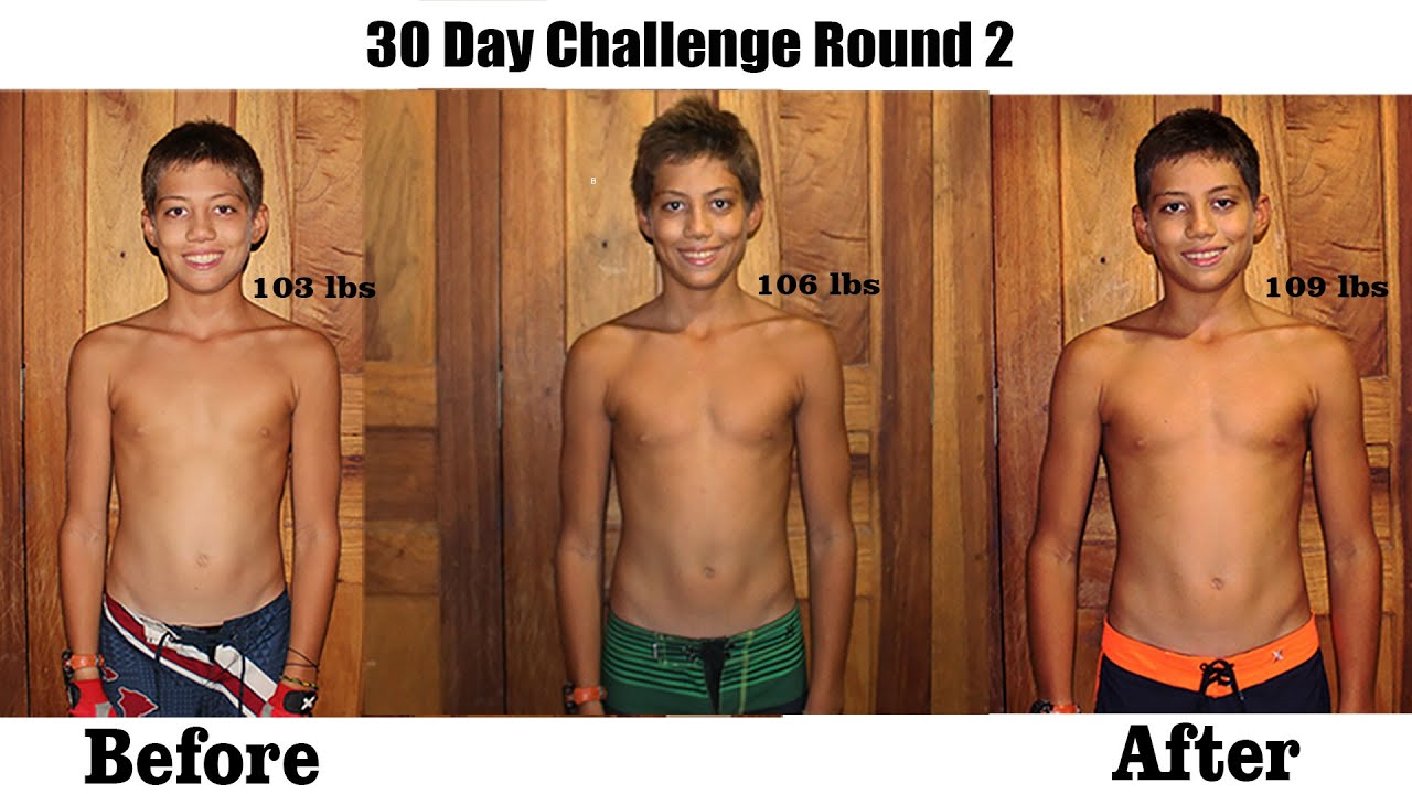 new 30 day challenge plus results youtube