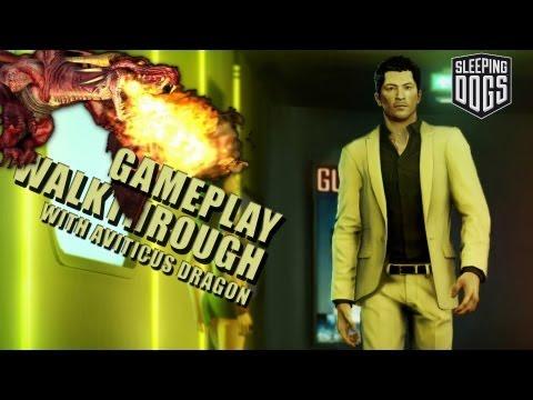 Sleeping Dogs - Gameplay - Part 9 - Manufacturing plant takedown & capturing Siu Wah