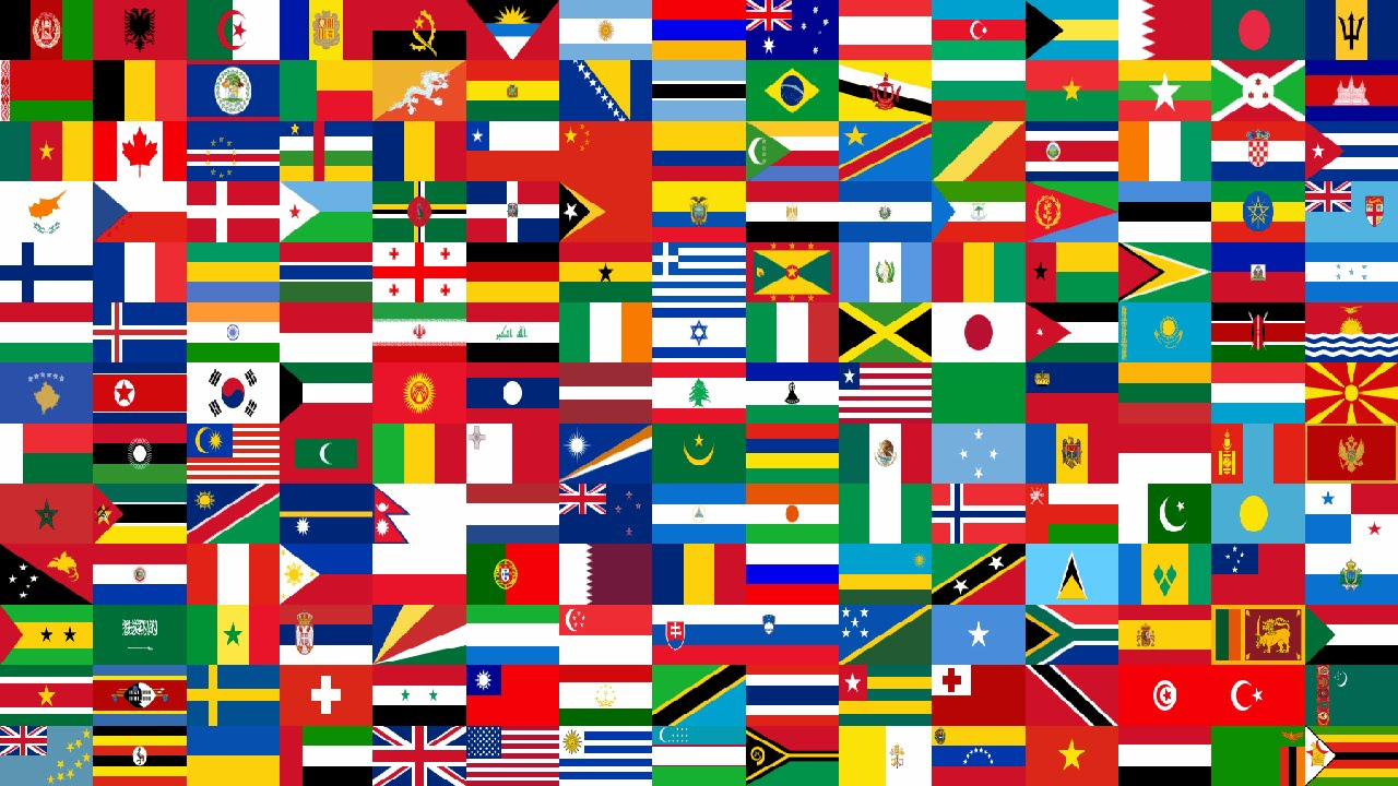 flags of the world banner - photo #33