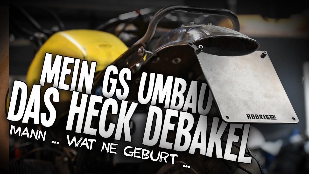 """Mein BMW GS Umbau ... Das Heck """"Debakel"""" .... wenn es manchmal einfach nicht passen will ..."""