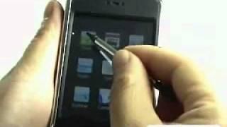 2.7 inch touchscreen MP4/MP3-pleer