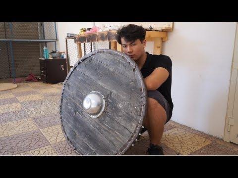 كيف تسوي درع الفايكنج/vikings shield