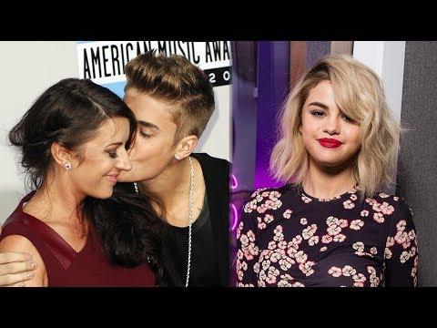 Mamá de Justin Bieber Da Gusto Bueno a Selena Gomez