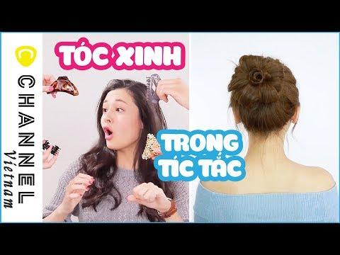 4 kiểu tóc cực nhanh với kẹp càng cua