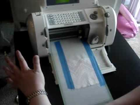 fabric cutting with the cricut cutting machine