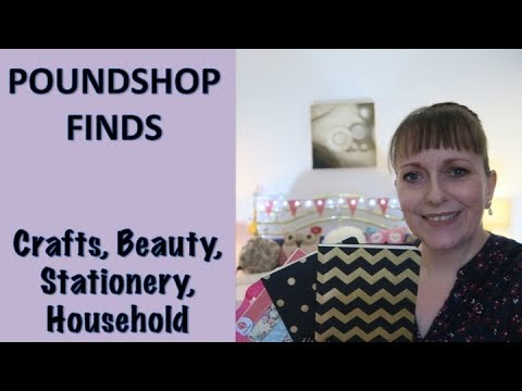 POUNDSHOP FINDS | HAUL | BEAUTY TOOLS | CRAFT | STATIONERY | OTHER BITS