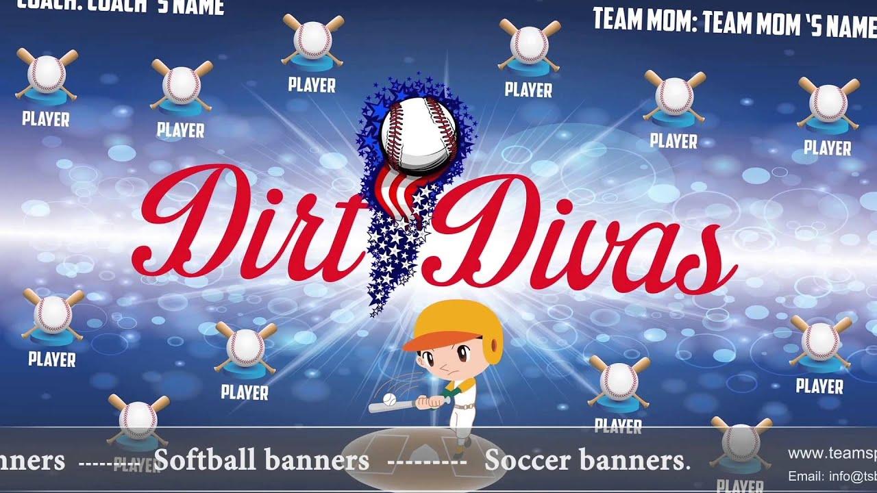 softball team banners softball banner ideas part 3 youtube